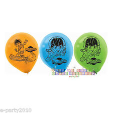 MILES FROM TOMORROWLAND LATEX BALLOONS (6) ~ Birthday Party Supplies Decorations