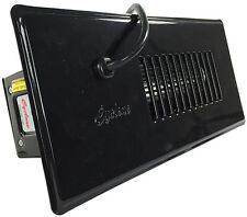 """Cyclone Auto or Manual Duct Booster Fan for 10"""" Register (45 CFM) - Black"""