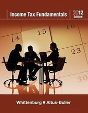 Income Tax Fundamentals 2012 (with H&R BLOCK At HomeTM Tax Preparation Software