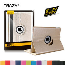 iPad 4 3 2  Case Cover for Apple - Premium Rotating Stand Smart PU Leather cover