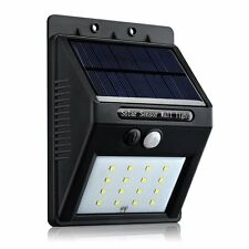Pictek Outdoor Solar Lights Auto On/Off, Wireless Motion Sensor Night Lighting