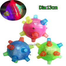 Kids Gift Flashing Light Up Singing Dancing and Bouncing Bumble Ball Novelty Toy