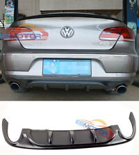 PAINTED R-Line Style Diffuser Spoiler For Volkswagen CC 4D Dual Side Single 12UP