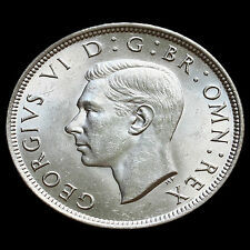 1938 George VI Silver Half Crown – Scarce – AU