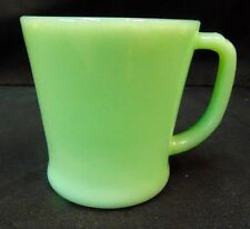 Vintage Fire King Jadeite Mug-D Handle