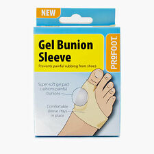 ProFoot Gel Bunion Sleeve Instant Relief from Painful Bunions