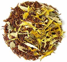 Candy Ginger Peach Rooibos Loose Leaf Red Tea - 1/4 lb