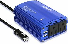 EPAuto 300W Car Power Inverter DC 12V to 110V AC Converter with Dual USB