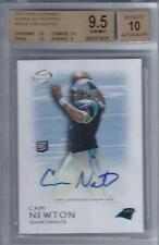 2011 Cam Newton Topps Legends Auto  RC... Graded BGS 9.5 Gem Mint w/10 auto