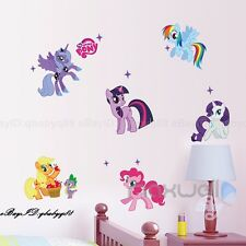 My Little Pony Cute Wall decals Removable sticker kids nursery Girls decor