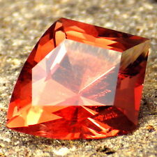 RED SCHILLER OREGON SUNSTONE 3.32Ct FLAWLESS-AMAZING COLOR-FOR TOP JEWELRY