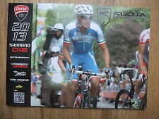 2013 KUOTA ROAD TRIATHLON BIKES & EQUIPMENT CATALOGUE ~ INC PRICES ~ NEW