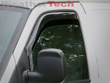 WeatherTech® Side Window Deflectors for Chevy Express - 1996-2015 - Dark Tint