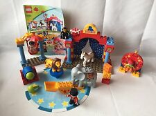 Lego Duplo Ville Zirkus - Set 5593 - Clown, Manege, Löwe, Elefant, Artist -TOP