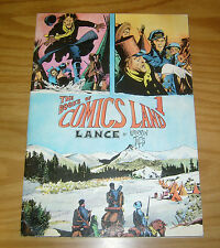 the Books of Comics Land #1 FN lance by warren tufts - strip art features 1979