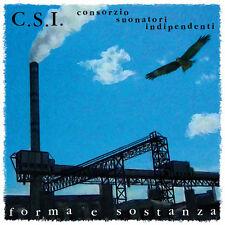 """C.S.I. FORMA E SOSTANZA VINILE EP 10"""" NUMERATO RECORD STORE DAY 2017 NUOVO"""