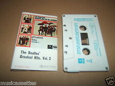 THE BEATLES GREATEST HITS VOL. 2 AUSTRALIAN CASSETTE TAPE