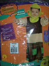 Bunting Shrek the Third child costume Newborn NOS Rubies Dreamworks Infant baby