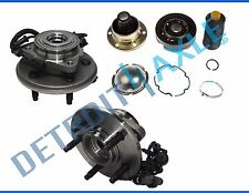 Front Drive Shaft CV Joint Repair Kit + Wheel Hubs for Ford Explorer 4x4 w/ ABS