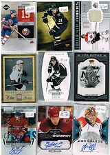 HUGE Lot Of 2011-12 Autos - Game Used - Rookies - Parallels - Inserts - Base