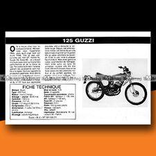 ★ MOTO GUZZI 125 TRIAL ★ 1976 Essai Moto / Original Road Test #c133