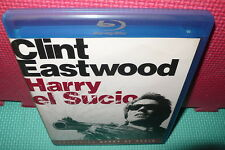 HARRY EL SUCIO - CLINT EASTWOOD  - BLU-RAY