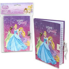 Disney Princess Love To Sparkle Locking Diary With 2 Keys - 40 Pages - New