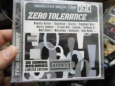 Zero Tolerance [PA] by Various Artists (CD, Mar-2002, Greensleeves Records)