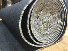 CARPENTER BLACK 9MM CARPET UNDERLAY FULL ROLL 15 SQUARE METRES 11x1.37m Cheap