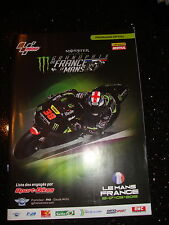 OFFICIAL MOTO GP PROGRAMME - FRENCH 2015 - SIGNED LUIS SALOM RIP - NOT ROSSI