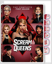 Scream Queens: The Complete First Season One 1 (DVD, 2016, 4-Disc Set)