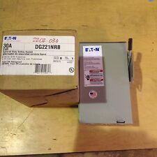 EATON DG221NRB 30 AMP 240 VOLT 2 POLE NEMA 3R DISCONNECT FUSIBLE