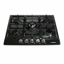 Brand New WindMax 68cm 5 Burner Stainless Steel Gas Cooktop