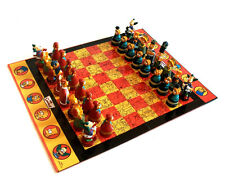 Matt Groeing THE SIMPSONS CHESS set complete with Figures & Board, NO BOX