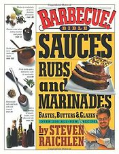 Barbecue! Bible Sauces,Rubs,and Marinades, by Steven Raichlen Paperback SGBK NEW