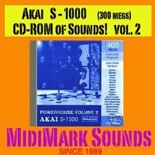 Akai s1000, s-1000, or Comp  Vol. 2 Pwr House CD-Rom