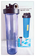 "Big Fat 20"" Jumbo Size Clear Whole House Water Filter System (1""Port)"