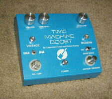 Robert Keeley Time Machine Boost Overdrive Guitar Effects Pedal, 1966-1973