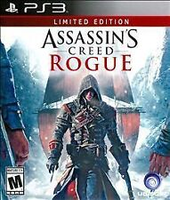NEW! Assassin's Creed: Rogue (Limited Edition) (PS3, PlayStation 3) NEW & SEALED