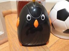 BATTERY OPERATED ELECTRIC PENCIL SHARPENER  PENGUIN NEW + MINIONS PENCILS  (3)
