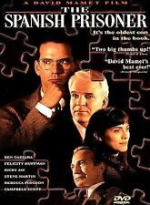 The Spanish Prisoner, Acceptable DVD, Campbell Scott, Steve Martin, Rebecca Pidg