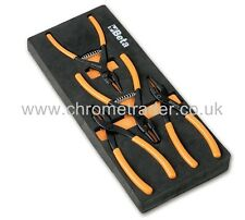 BETA TOOLS M145 4PC CIRCLIP PLIERS IN FOAM TRAY