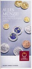 SAMMELN in GOLD -SILBER -NIOB auf 52 Seiten- Ausgabeprogramm 2015