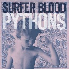 Surfer Blood - Pythons (2013)  Digi Pack Edition  NEW
