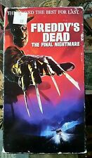 Freddy's Dead- The Final Nightmare VHS New Line Nightmare on Elm St HORROR