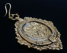 Large Incorporation of Fleshers Glasgow Gilt Medal in Case from 1888-89