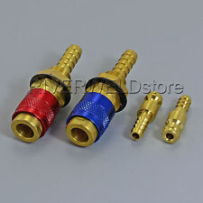 Water Cooled & Gas Adapter Quick Connector Fitting For TIG Welding Torch,2PK