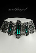Restyle Vivian Mint Green Choker Victorian Gothic Adult Womens Necklace Jewelry