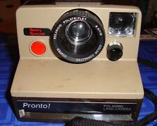 VINTAGE Pronto Polaroid Land Camera SX-70 Instant Camera Tested, Grey