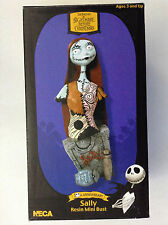 TIM BURTON'S NIGHTMARE BEFORE CHRISTMAS SALLY RESIN MINI BUST NECA(JACK NBX 1234